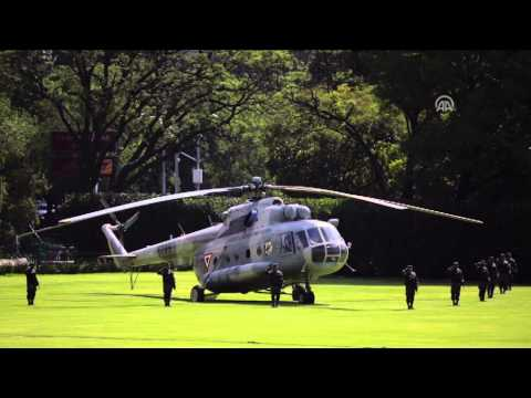 President of Chile Michelle Bachelet visits Mexico