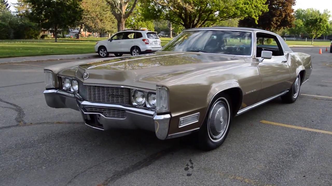 1969 cadillac eldorado 2 door hardtop ross 39 s valley auto sales boise idaho youtube. Black Bedroom Furniture Sets. Home Design Ideas