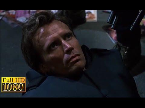 RoboCop (1987) - Clarence Boddicker Kill Alex Murphy Scene (1080p) FULL HD
