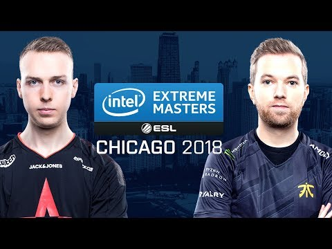 CS:GO - Astralis vs. Fnatic [Inferno] Map 3 - Semifinals - IEM Chicago 2018