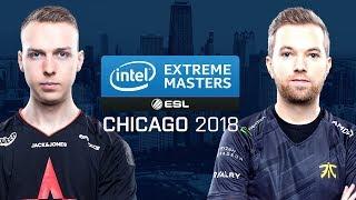 CS:GO - Astralis vs. Fnatic [Inferno] Map 3 - Semifinals - IEM Chicago 2018