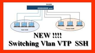 Switching Vlan VTP  SSH   شرح بالتفصيل الممل درس في غاية الروعة