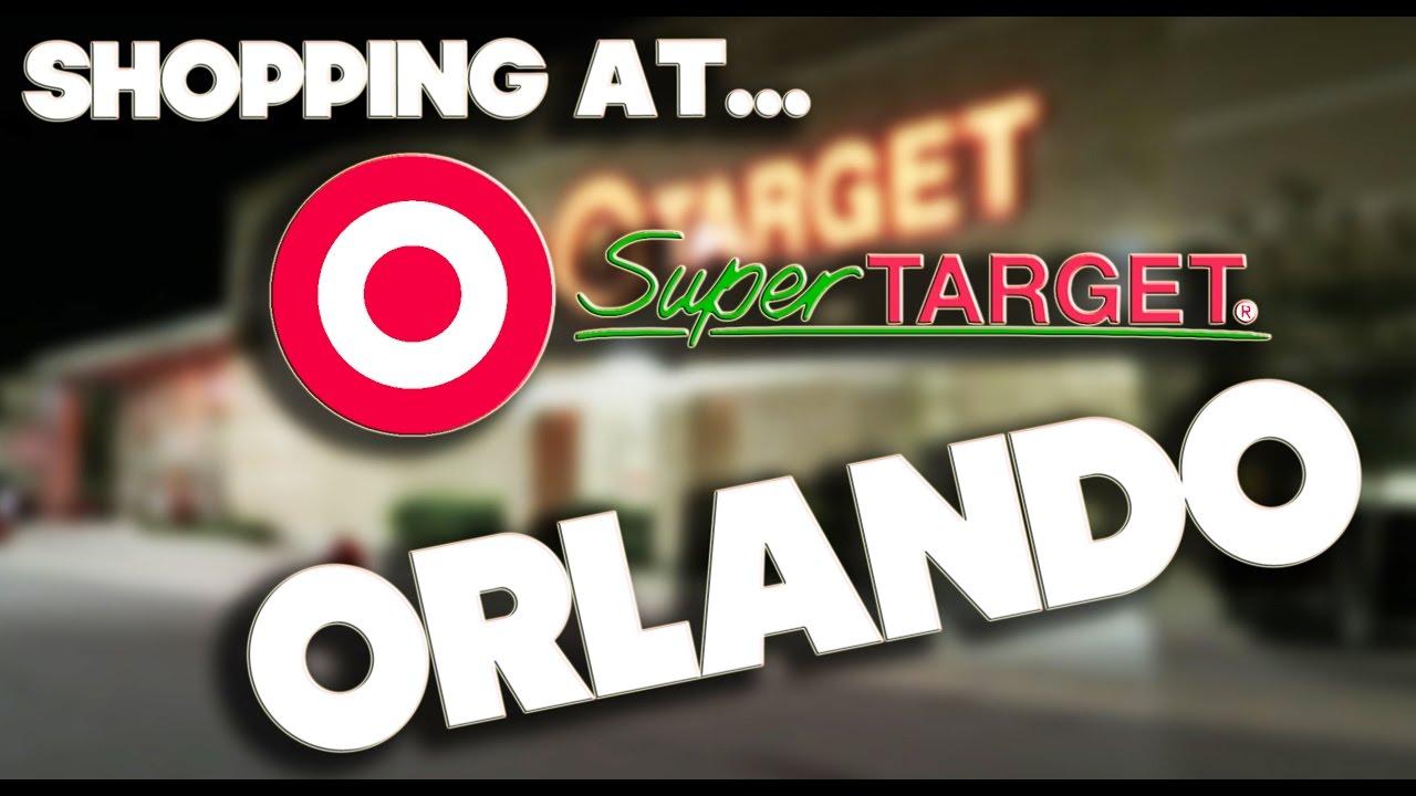 SHOPPING AT SUPER TARGET ORLANDO YouTube