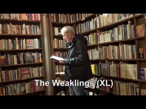 Dennis Cooper The Weaklings (XL) reading in Paris