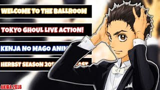 Welcome to the Ballroom Anime LIZENZIERT! | Herbst Season 2018 Simulcast | Akira News