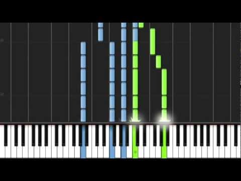 Coldplay - Scientist (Adrian Lee piano cover) with MIDI