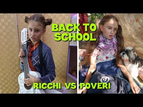 BACK TO SCHOOL RICCHI VS POVERI - by Charlotte M.