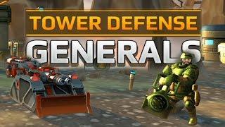 Tower Defense Generals - ПОПРОБУЙ, ПРОЙДИ ЭТО!