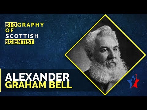 Alexander Graham Bell Biography in English - Scientist and inventor