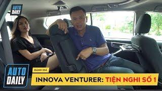 Đánh giá Toyota Innova Venturer: TIỆN NGHI số 1
