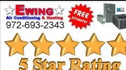 AC Repair Lewisville Texas, Air Conditioning Service Lewisville TX | Ewing Air Conditioning