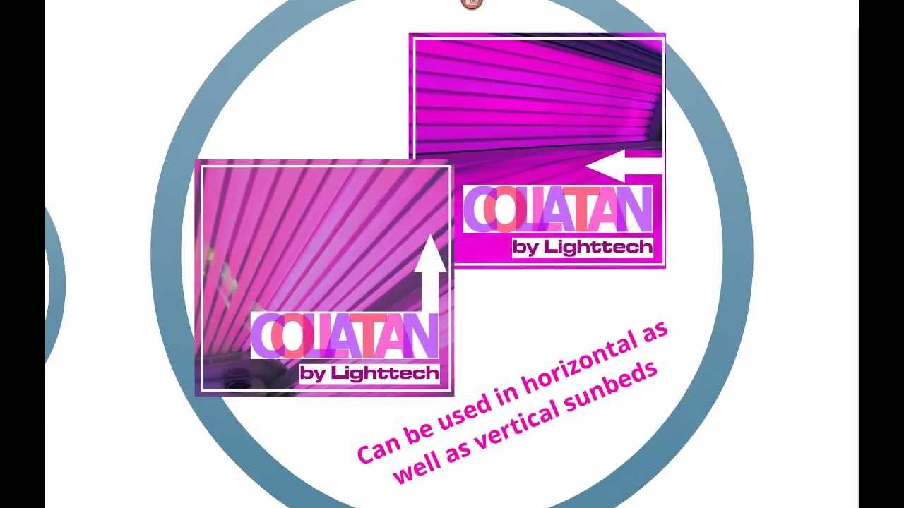 Collatan Red Light Tanning Lamps By Lighttech Youtube