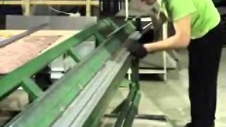 Листогиб ручной, работа листогиба делаем короб для вентиляции www.stoki.ru www.sks-master.ru(, 2011-03-30T13:27:36.000Z)