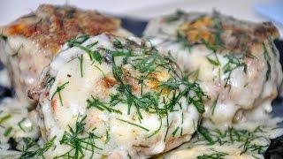 Рецепт. Тефтели в сметанном соусе