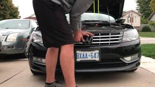 how to remove a b7 passat headlight grill cheap n easy headlight fix