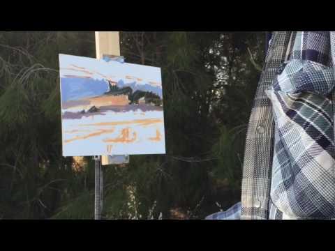 Plein Air Adventure #01 | Bedwell Bayfront Park