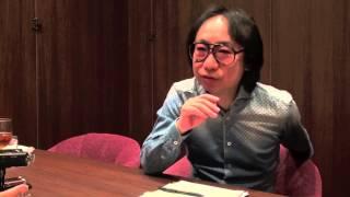 単行本『目撃証言 ヘヴィ・メタルの肖像』の口述筆記のために、伊藤政則...