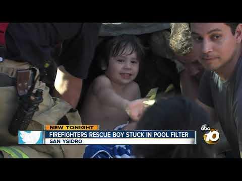 MORNING NEWS - San Ysidro Little Boy Gets Stuck In Jacuzzi Filter