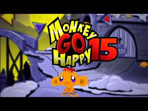"""Игра """"Счастливая Обезьянка 15"""" (Monkey GO Happy 15) - прохождение"""