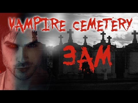 HAUNTED VAMPIRE CEMETERY AT 3AM!