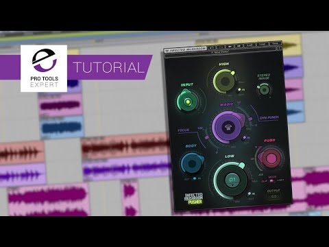 Mix Bus Magic - Hear How You Can Use Wave Infected Mushroom Pusher To Enhance Your Mix