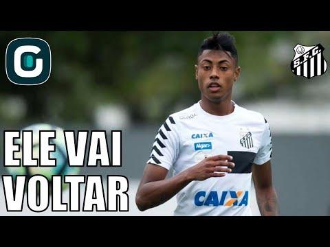 Bruno Henrique Deve Voltar Na Próxima Semana No Santos- Gazeta Esportiva (07/02/18)
