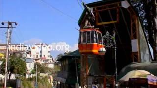 Gun Hill Ropeway Mussoorie  Dehradun Uttarakhand