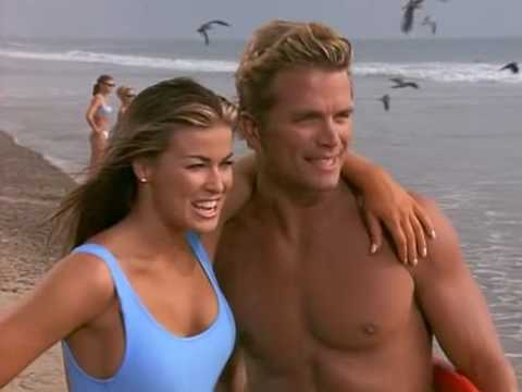 Carmen Electra - Baywatch (Light Blue Swimsuit) thumbnail