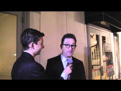 Tom Kenny, voice of Spongebob Squarepants, gives a shoutout to MAX ON THE RED CARPET