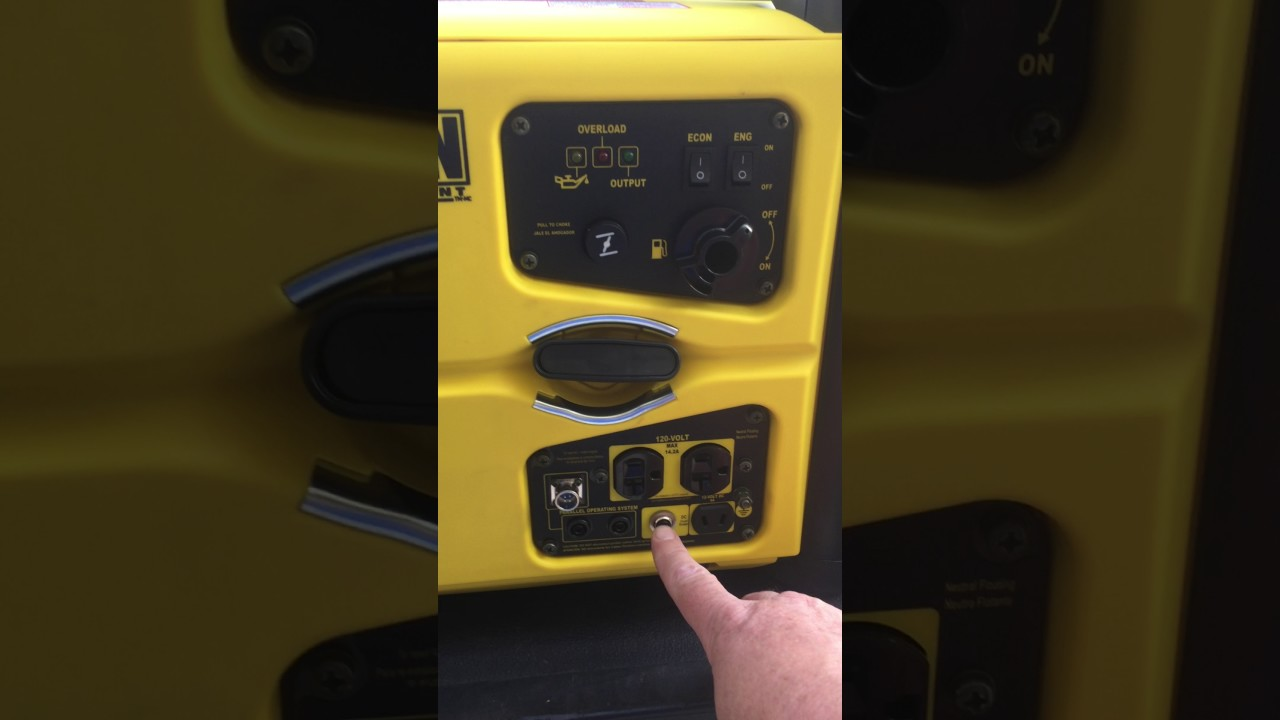 Champion 2000w Inverter Generator Youtube