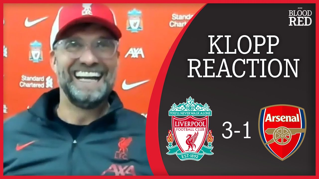 Jurgen Klopp on Roy Keane Comments & Diogo Jota Goal | Liverpool 3-1 Arsenal | Press Conference