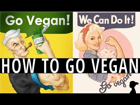 How to Go Vegan, with Tony Robbins | Vegan Watching