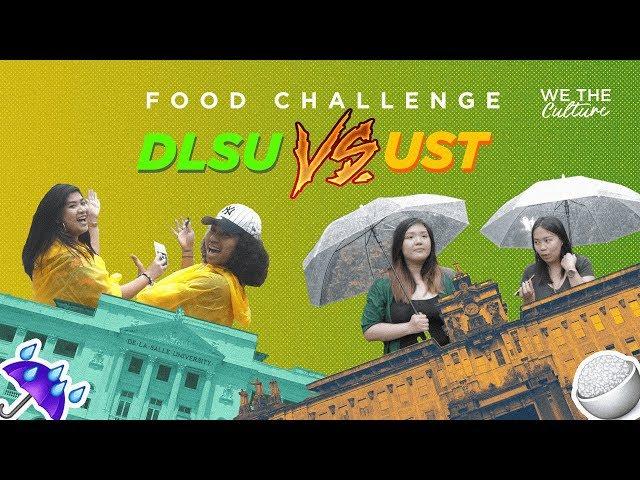 DLSU vs. UST Food Challenge