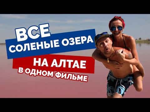 СОЛЕНЫЕ ОЗЕРА Алтайского края: Яровое, Завьялово, Гуселетово, Малиновое озеро