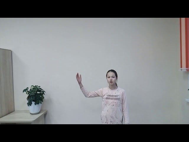 Изображение предпросмотра прочтения – АнастасияСмирнова читает произведение «С поляны коршун поднялся…» Ф.И.Тютчева