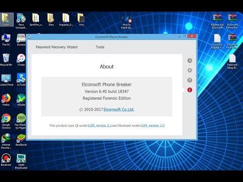 elcomsoft phone password breaker 6.45 crack