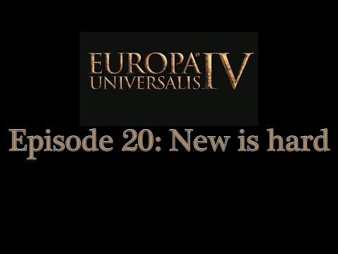 Europa Universalis 4 Multiplayer - Epi 20: New is hard |