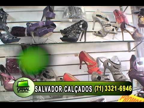 d0f25a82f SALVADOR CALÇADOS JULHO - YouTube