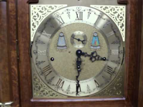 Chime Sign In >> Rare vintage Kieninger Triple weight Triple chime musical longcase grandfather clock with ...
