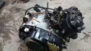 Yamaha Banshee Engine Removal & diagnostics
