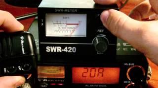 Як користуватися КСВ-метром на прикладі SWR-420