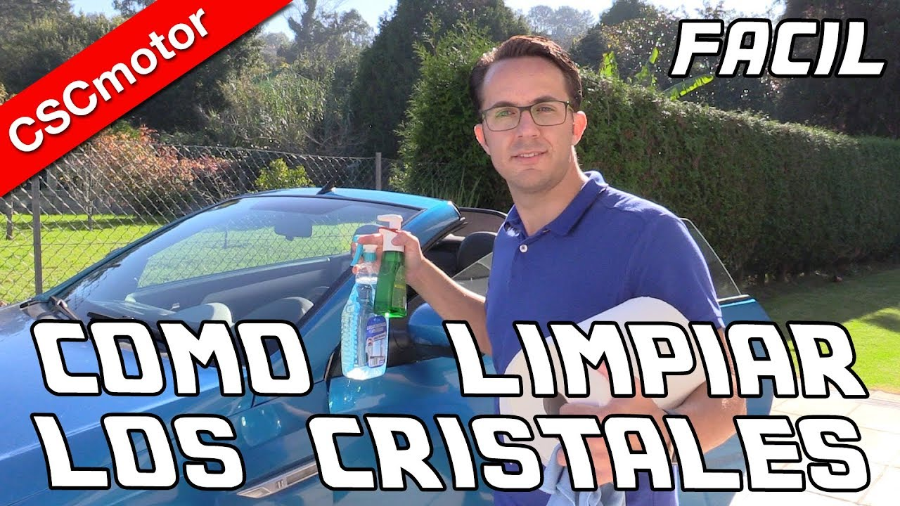 Limpiar los cristales del coche consejos youtube - Como limpiar los cristales del coche ...