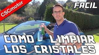 Limpiar los cristales del coche | CONSEJOS