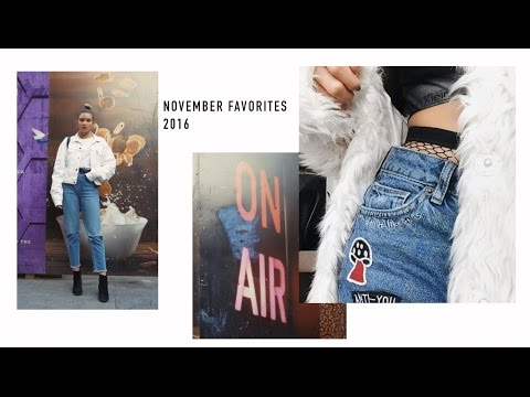 November Favorites 2016