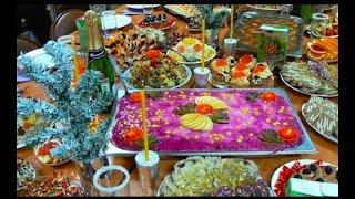 БЛЮДА ДЛЯ ПРАЗДНИКА 🥮 ПРАЗДНИЧНЫЕ БЛЮДА🧁 СЕМЕЙНАЯ КУХНЯ 🍇 НОВОГОДНИЙ СТОЛ #russian_food #oldenburgru