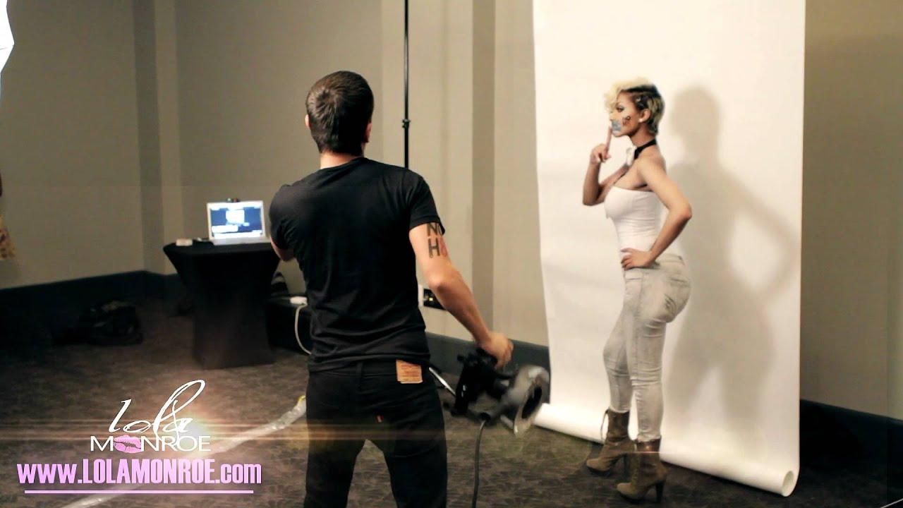 LoLa Monroe NOH8 PHOTOSHOOT !!!!! - YouTube  LoLa Monroe NOH...