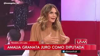 Amalia Granata Debatió Con Las Angelitas Sobre La Ley Del Aborto