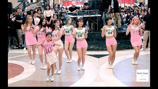 모모랜드 Na Haeun X Momoland 뿜뿜 Bboom Bboom 분당 뮤비 조회수 2500만 공약 게릴라 공연a180708