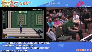 Summer Games Done Quick 2014 - Part 89 - Double Dragon Advance