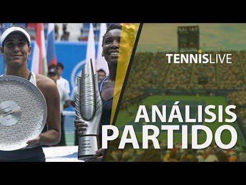 Análisis del partido Garbiñe Muguruza vs Venus Williams con la Guía LPC - LPC TV